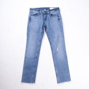 rag & bone Dre Capri Cut Hem Jeans